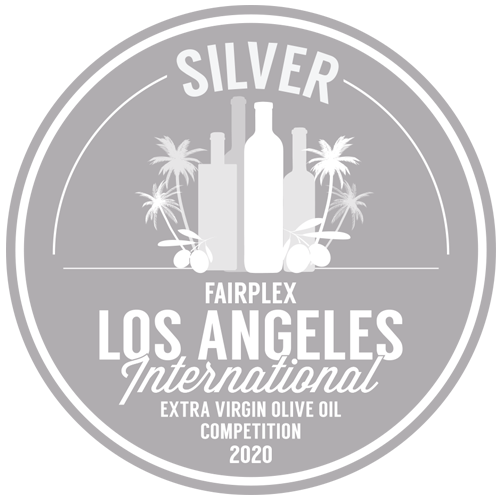 Premio de Plata en Fairplex Los Angeles International Extra Virgin Olive Oil Competition 2020
