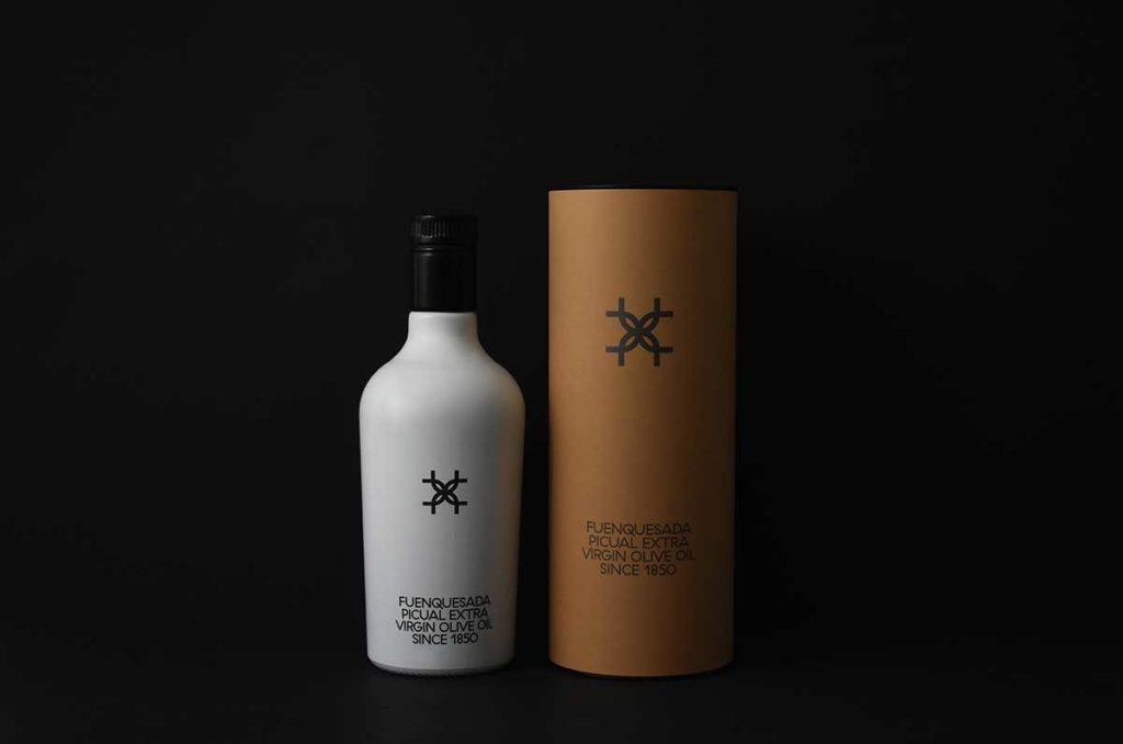 Nuevo 'packaging' de Fuenquesada 2020, aceite verde y picual