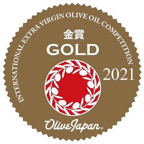 Gold Award in OliveJapan International Extra Virgin Olive Oil Competition 2021