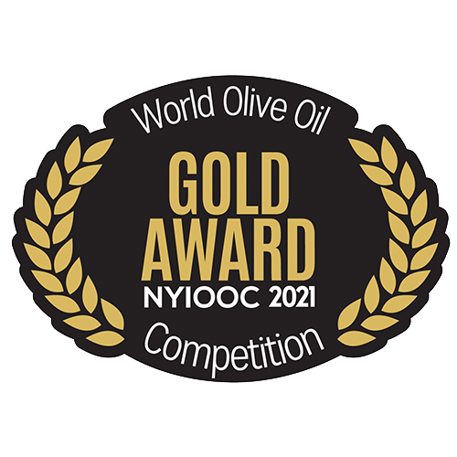 Gold Award in New York International Olive Oil Competition 2021